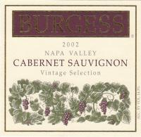 Burgess CS Library 2002 Label