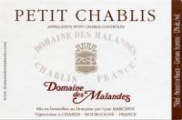 Petit Chablis Label