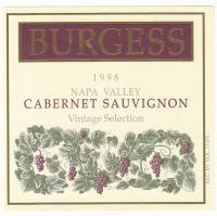 Burgess CS Library 1998 Label