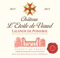 Château L'Etoile de Viaud Lalande de Pomerol Label