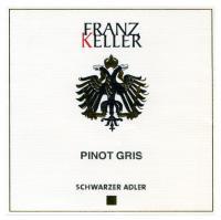 New Franz Keller Pinot Gris Label
