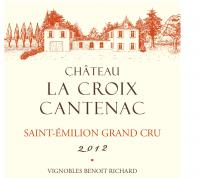 Château La Croix Cantenac Label