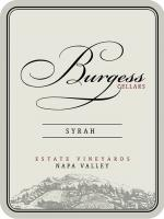 New NV Burgess Syrah Label