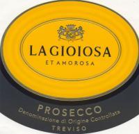 La Gioiosa Prosecco DOC Treviso Label