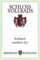 New Schloss Vollrads Kabinett Medium Dry Label